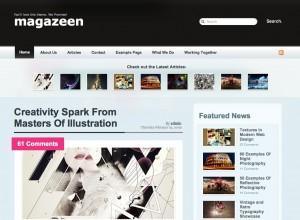 Magazeen - kostenloses Magazin WordPress Theme