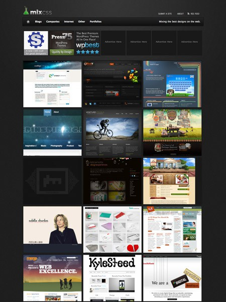 Kostenloses WordPress Theme Gallery
