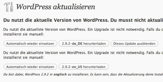Keine Updates, so sollte jeder Blog aussehen