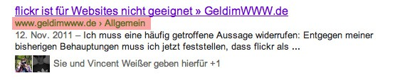 Breadcrumbs als Rich Snippets
