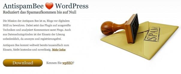 Antispam-Plugin (Bild: Screenshot antispambee.de)