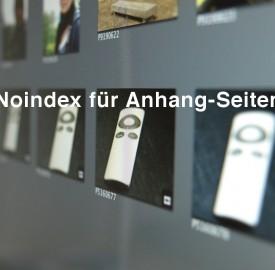 Noindex für Anhang-Seiten