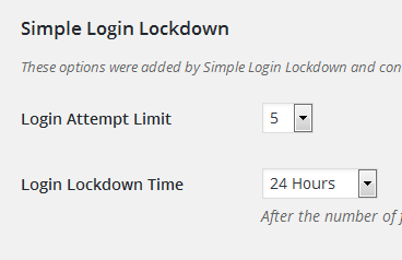 wordpress absichern_simple-login-lockdown