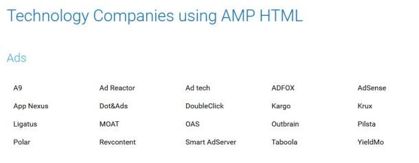Werbung Ads mit AMP einbinden